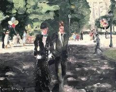 An Afternoon Stroll at Champs-Élysées, Paris