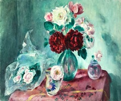 Still Life with Rose Bouquet
