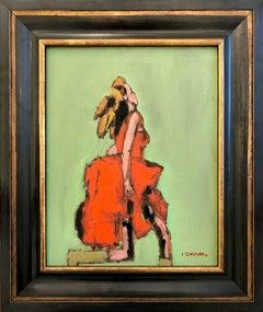 Running Girl in Red