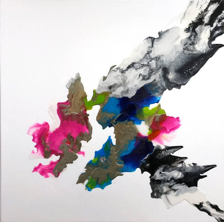 Corinne Natel Abstract Painting - Rokuro