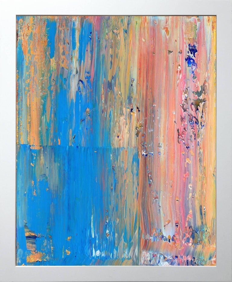 Robert Gregory Phillips Abstract Painting - Ocean and Desert As One