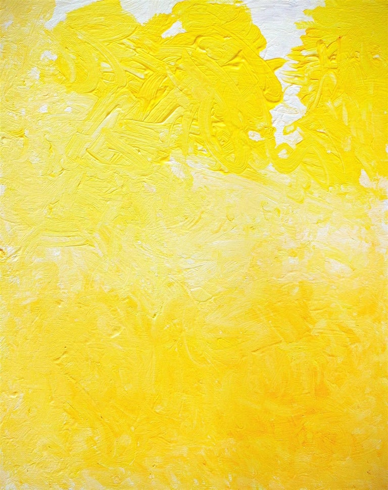 One Glorious Morning In Yellow And White For Sale 1