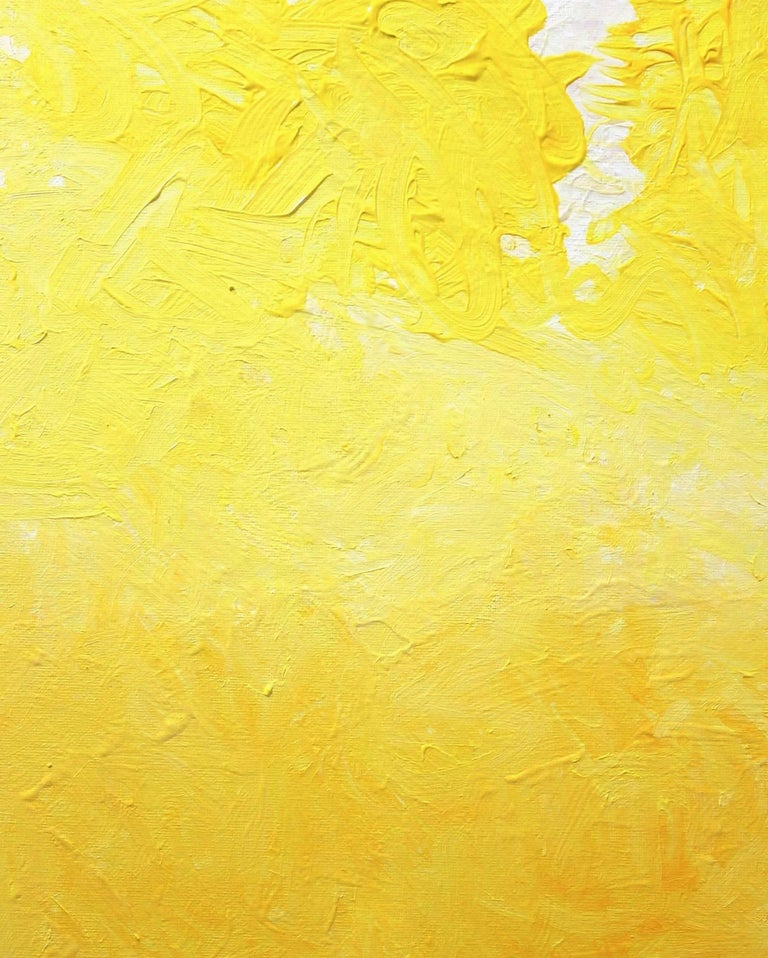 One Glorious Morning In Yellow And White For Sale 2