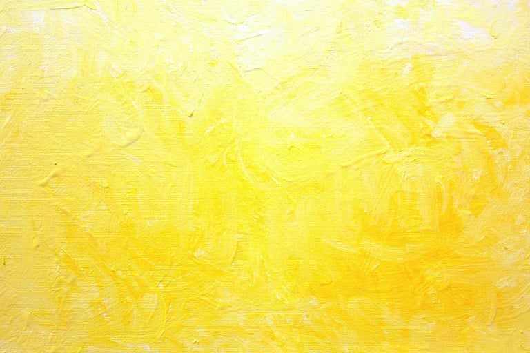 One Glorious Morning In Yellow And White For Sale 5