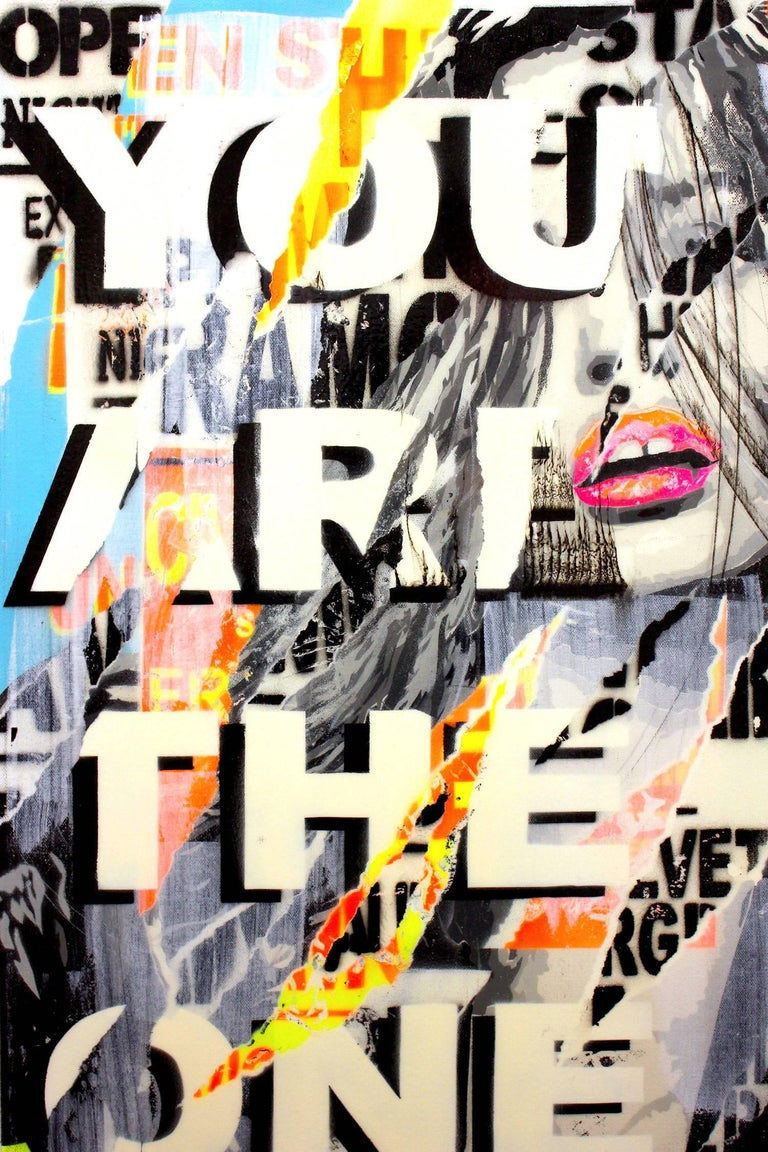 You are the One I Want - Painting by Yannick Hamon