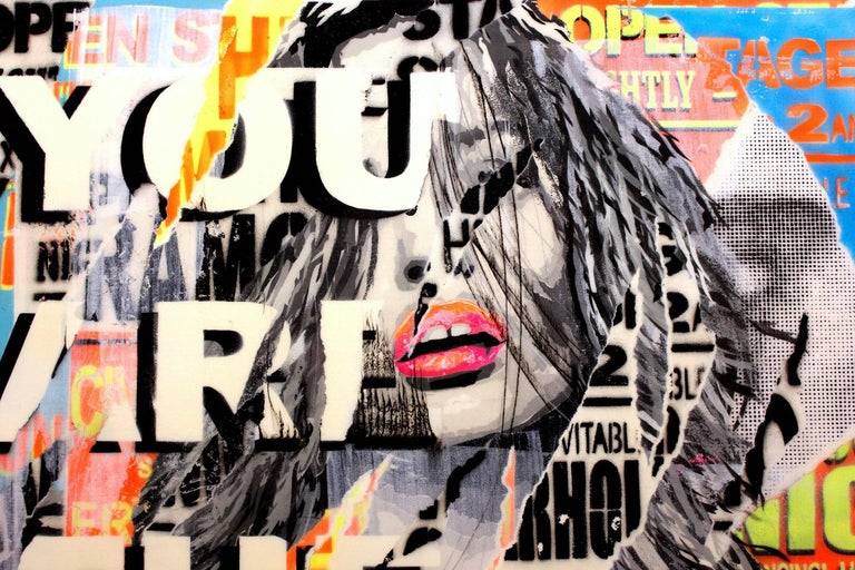 You are the One I Want - Pop Art Painting by Yannick Hamon