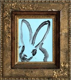 Untitled (Bunny on Cadet Blue)