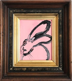 Untitled (Bunny on Flamingo Pink)