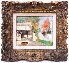 Parisian Scene with Figures