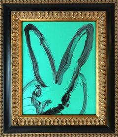 Untitled (Bunny on Turquoise)