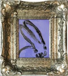 Untitled (Bunny on Iris Purple)