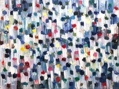 Dripping Dots, San Miguel, Colorful, Abstract, Oil Painting