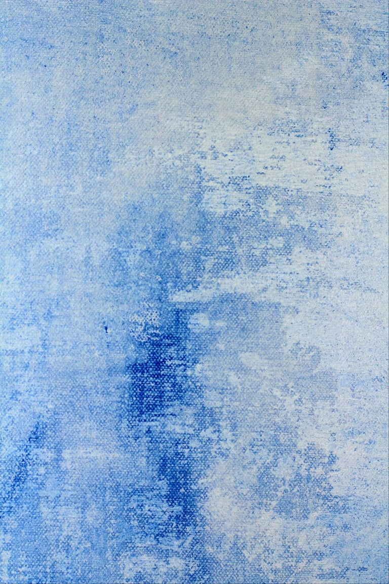Peace Blue - Painting by Robert Gregory Phillips