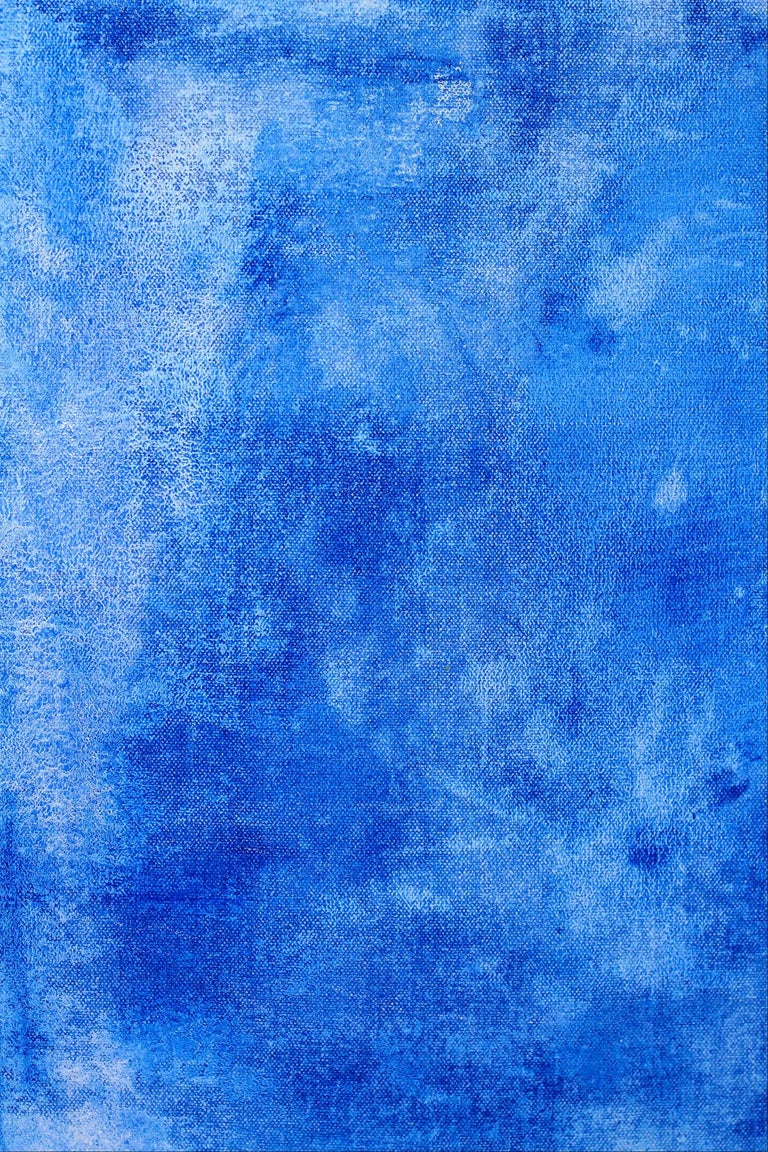 Peace Blue - Contemporary Painting by Robert Gregory Phillips