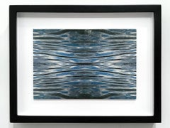 Ben Buswell, Untitled (Fold 1), 2018, 4 hand-embellished Lambda prints, water