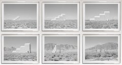 David Maisel, Air Force Target Grid Building, 2014, edition of 5 +1AP