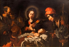 Nativity with the adoration of shepherds