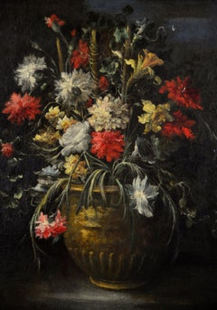 Still Life With Vase Of Flowers