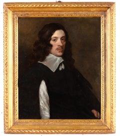 Portrait Of A Gentleman Oil on canvas Flandre Paint Van Dyck 17th Century