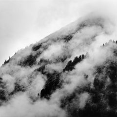 U5100 - Giuseppe Umberto Cavaliere Landscape Silver Gelatin Print  Baryta Paper