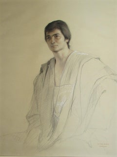 Young man in a Toga, Morocco