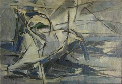 Futurist Abstract Composition