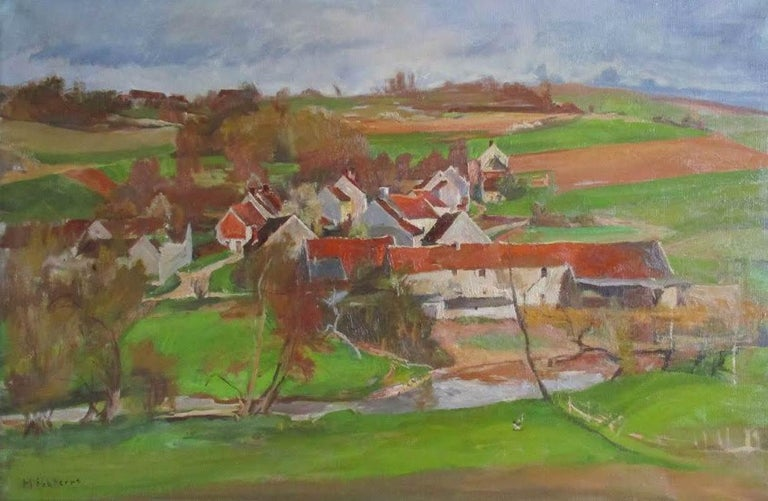 French Summer  landscape - by Modigliani's brother-in-law