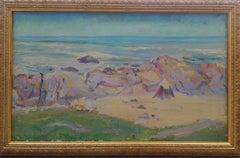 The Beach Hut,  cliffs in Brittany