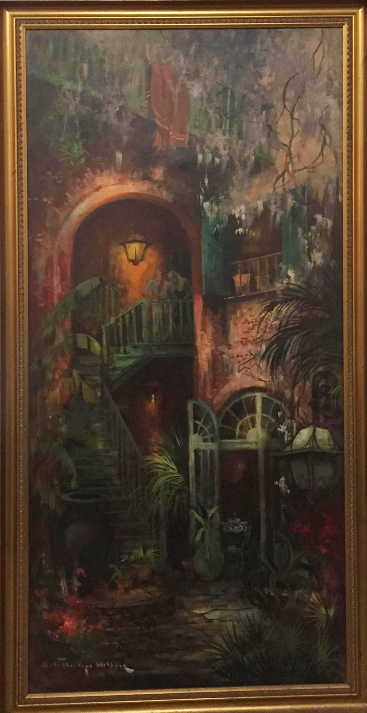 """Old Archway, Brulatour Patio,"" New Orleans by Colette Pope Heldner"