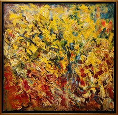 Expressionistic Floral Painting by Sergey Fedotov