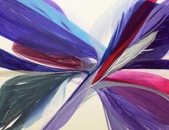 "Color-Field Painting ""Serendipity"" by American Artist Bette Ridgeway"