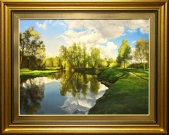 Hyperrealist Reflections in the Water by Vadim Klevenskiy