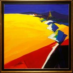 "Colorful Modern Landscape ""Floral"" by Pascal Etchenic"