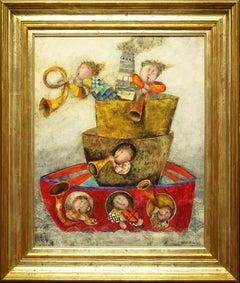 """Original Painting by Graciela Rodo Boulanger 'Voyage en Musique"""""""
