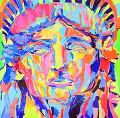 Pop Art Statue of Liberty by Spanish Artist Federico Lopez