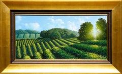 """Veraison"" Vineyards by Italian Artist Marco Di Nieri"