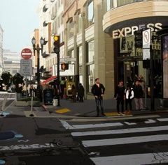 "San Francisco Street Scene ""City Attractions"" by  Rosana Sitcha"