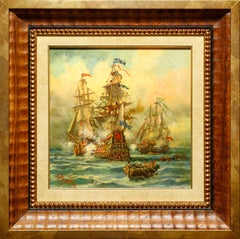 """""""Colonial Conquest"""" by Spanish artist Emilio Payes"""