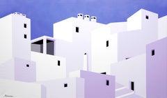 """Little Windows"" Contemporary Landscape by Almarche"