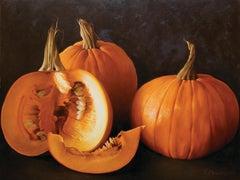 """Pumpkins"" 30 x 40 inch Oil on Canvas by Tatyana Klevenskiy"
