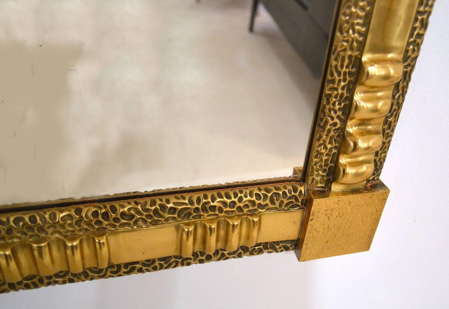 Brass mirror by frigerio 1960 39 s italy for sale at 1stdibs for Mirror 84 x 36