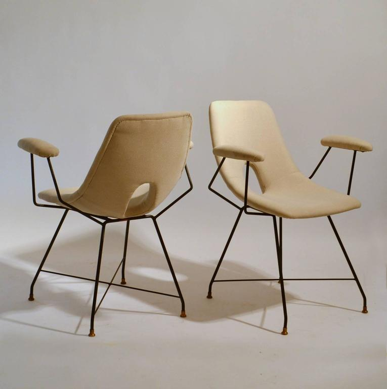 Six Cosmos Dining Chairs By Augusto Bozzi For Saporiti At