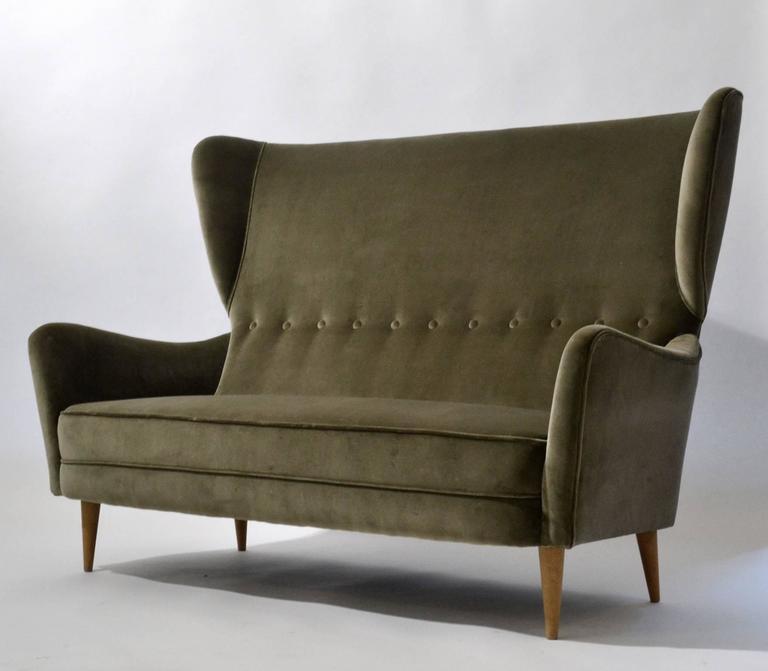 Wingback Sofa Furniture The Honoroak