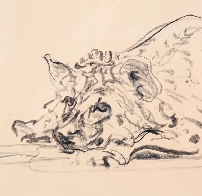 Post-Modern Hyena 1993 by Waldo Midgley For Sale