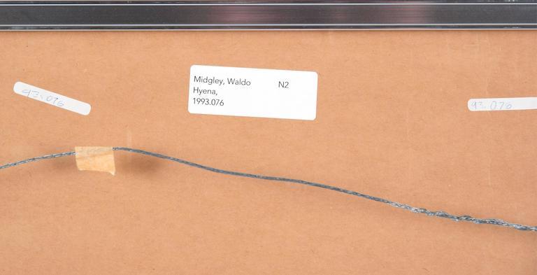 20th Century Hyena 1993 by Waldo Midgley For Sale