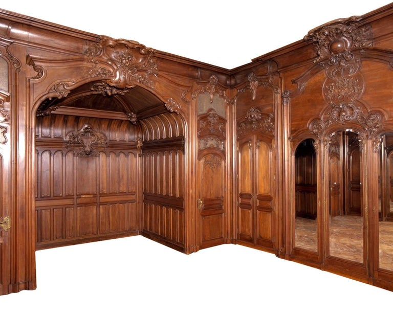 Paneled Boiserie From The Chateau Du Razat For Sale At 1stdibs