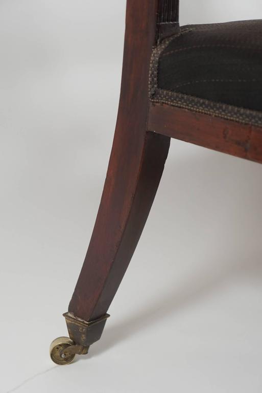 Mahogany Settee, England, circa 1795 For Sale 2