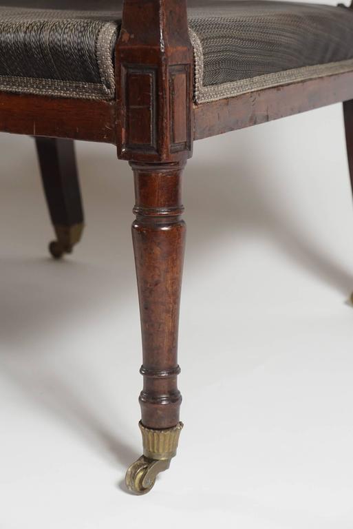 Mahogany Settee, England, circa 1795 For Sale 1