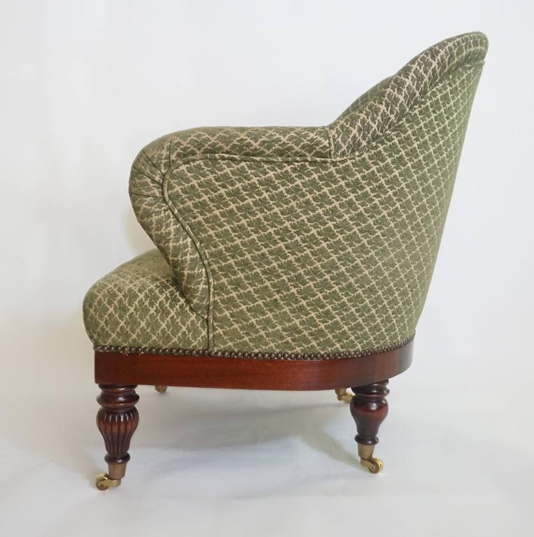 English Regency Tub or Club Chair, circa 1830 For Sale 3