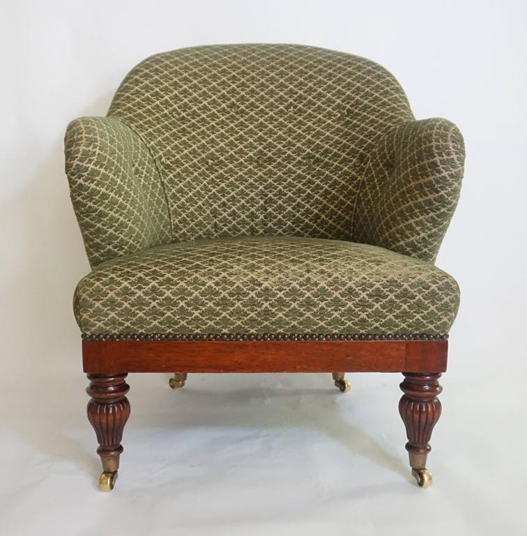English Regency Tub or Club Chair, circa 1830 For Sale 4